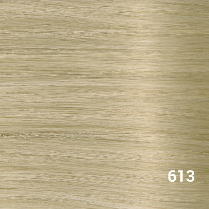 SilverFox Microring Loopring  Extensions - Steil - #613 Light Blonde