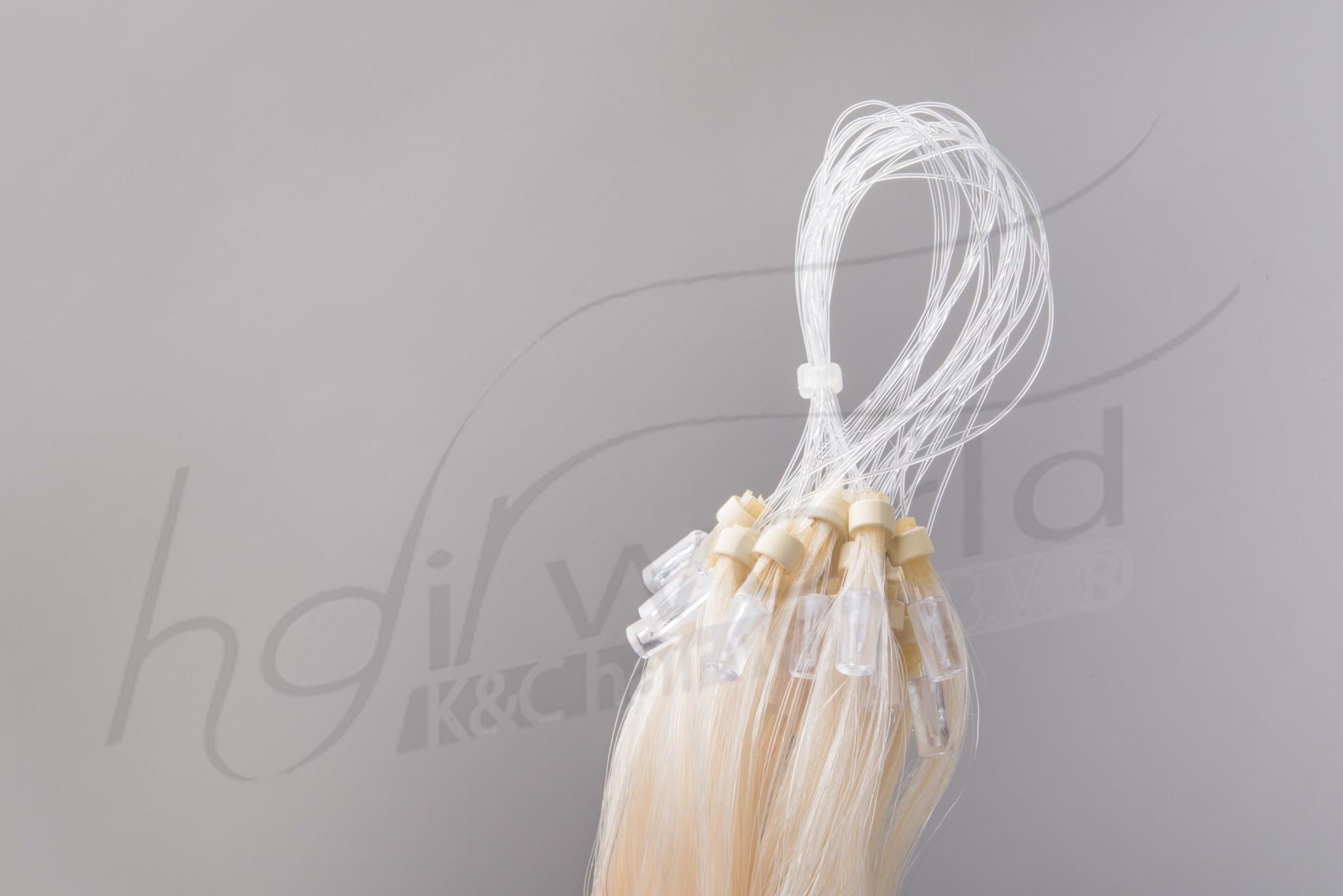 SilverFox Microring Loopring  Extensions - Steil - #60 White Blonde