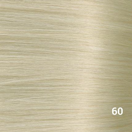 SilverFox Machine Made V-Part Clip-in #60 White Blonde