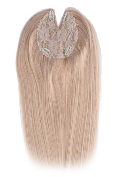 SilverFox Machine Made V-Part Clip-in #24 Warm Light Blonde