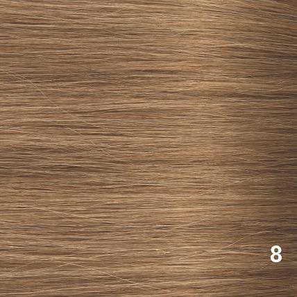 RedFox Clip-in Extensions - Body Wave - #8 Cinnamon