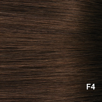 RedFox Clip-in Extensions - Body Wave - #F4 Dark Chestnut Brown