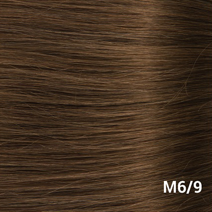 RedFox Clip-in Extensions - Straight - #6/9 Dark Golden Brown