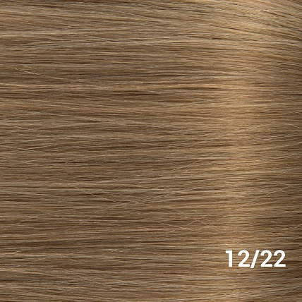 RedFox Clip-in Extensions - Straight - #12/22 Ash Blonde/ Hollywood Blonde