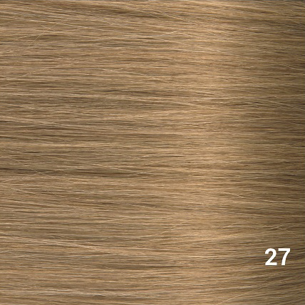 RedFox Clip-in Extensions - Straight -#27 Dark Blonde