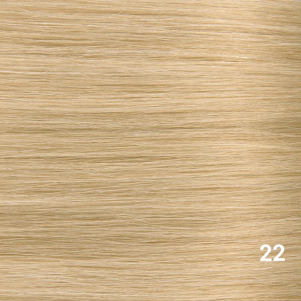 RedFox Clip-in Extensions - Straight - #22 Hollywood Blonde