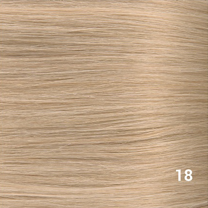 RedFox Clip-in Extensions - Straight - #18 Stawberry Blonde