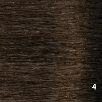 SilverFox Indian Shri Weave -#4 Chocolate Brown
