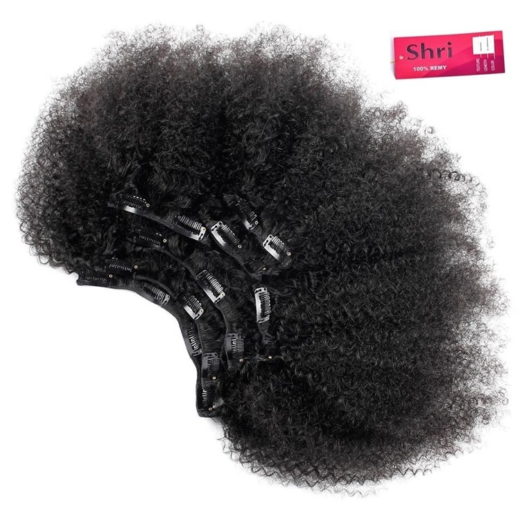RedFox SHRI  Afro Kinky Clip-in 14''