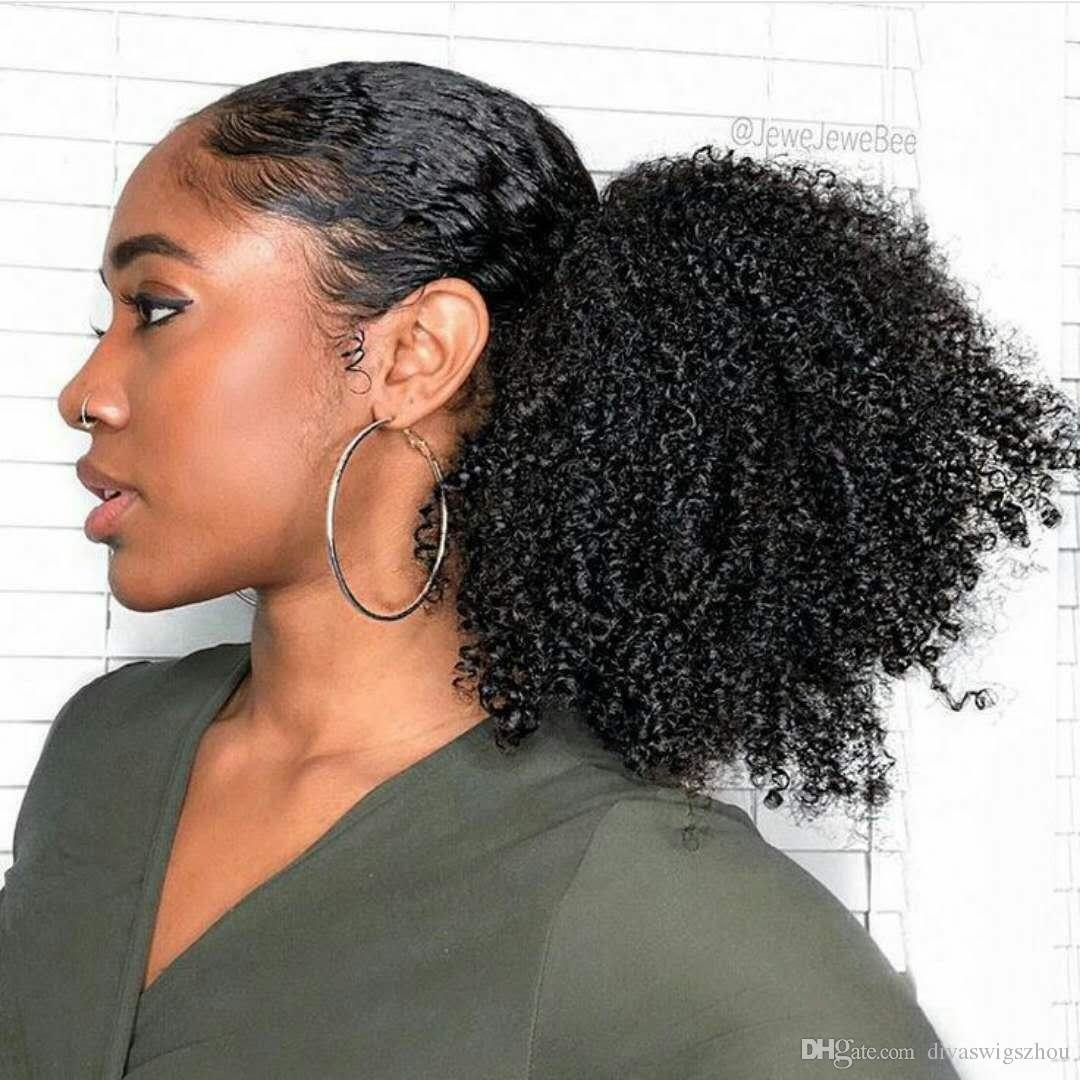 RedFox Ponytail Afro Kinky Curly