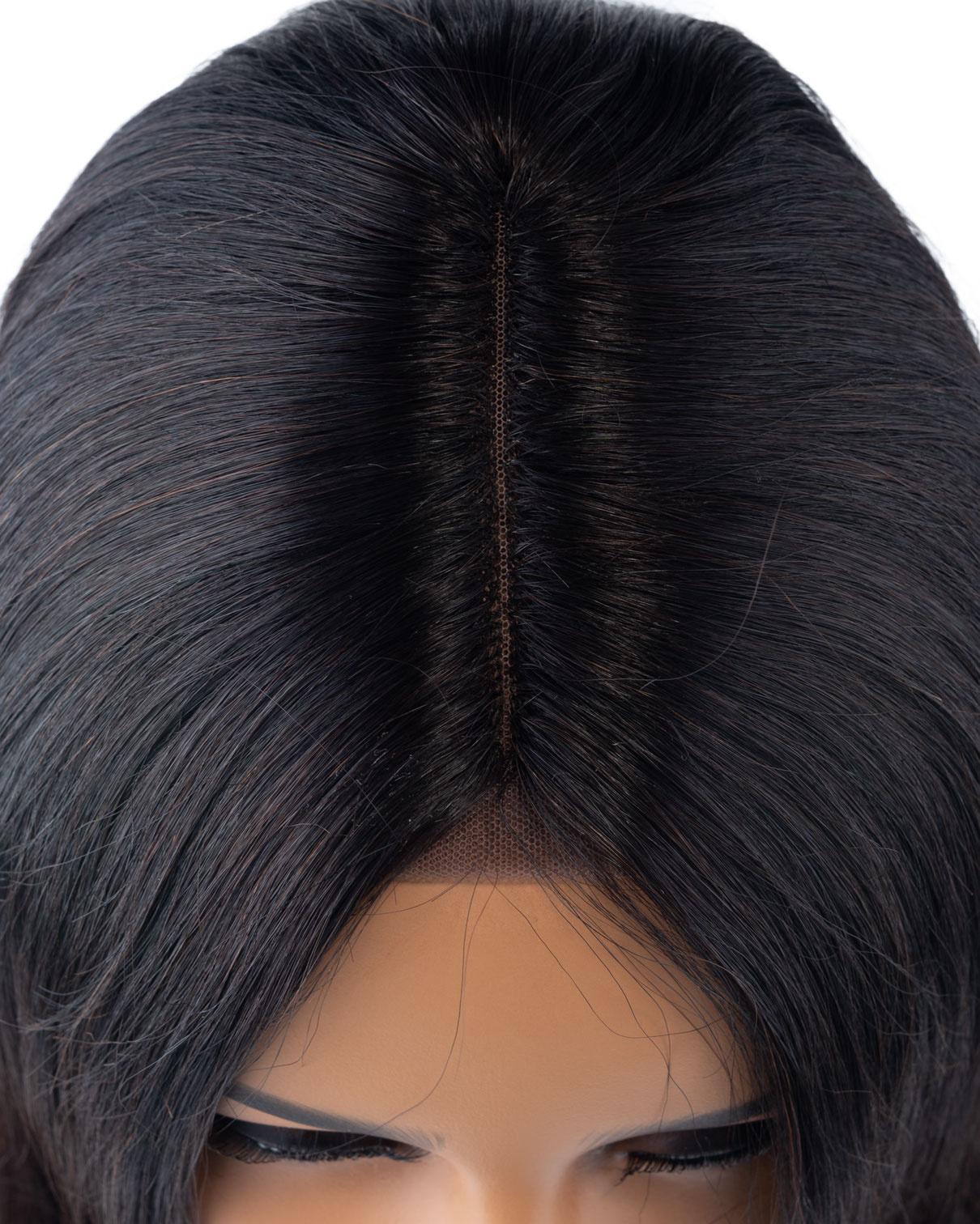 Shri SilverFox Indian Shri Front Lace Wig - BOB -10''