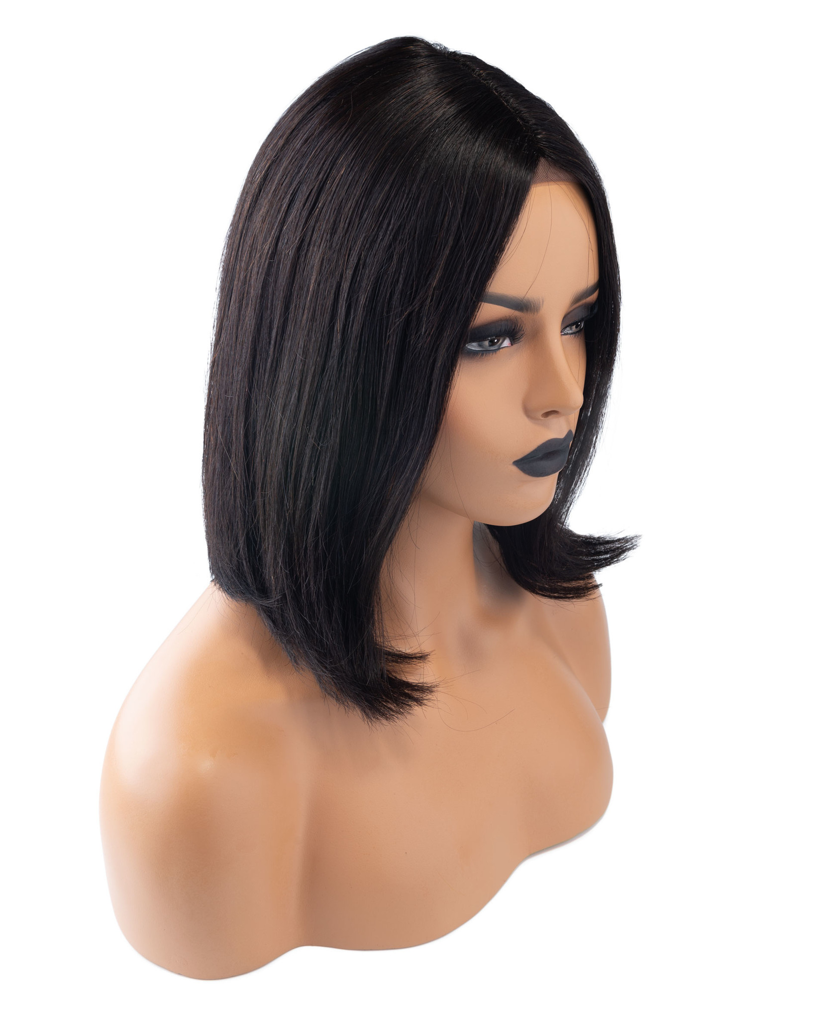 Shri SilverFox Indian Shri Front Lace Wig - BOB - 10''