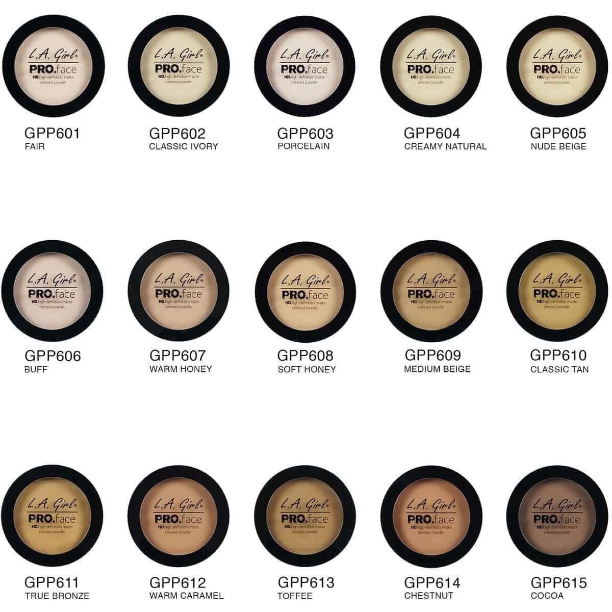 L.A. Girl LA Girl Pro Face Pressed Powder