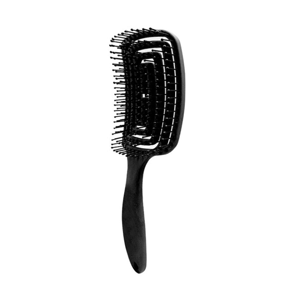 Antiklit Haarborstel-Zwart /Large Curved Comb / Brush Scalp