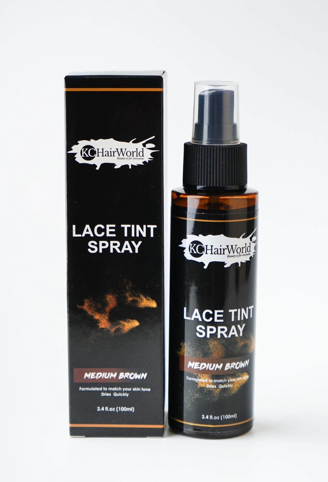 Lace Tint Spray - Medium Brown
