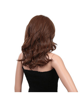 Synthetic fiber lace wig- Grace 16 INCH