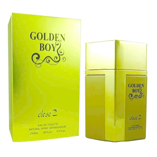 Close 2 parfums Golden boy EDT 100 ml