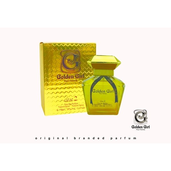 Close 2 parfums Golden Girl  EDP 100 ml
