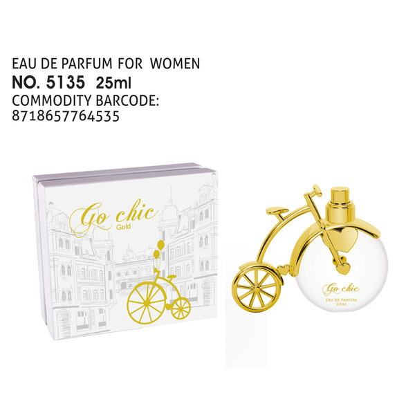 Tiverton Go Chic gold EDP 25 ml