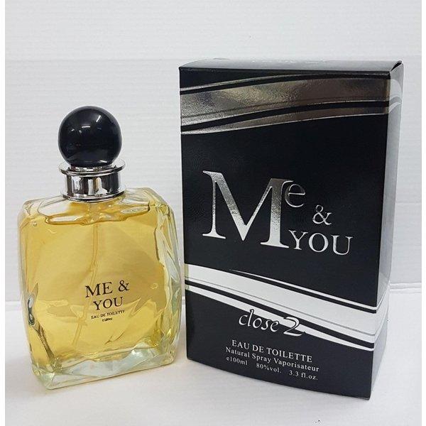 Close 2 parfums Me & you 100 ml EDT men