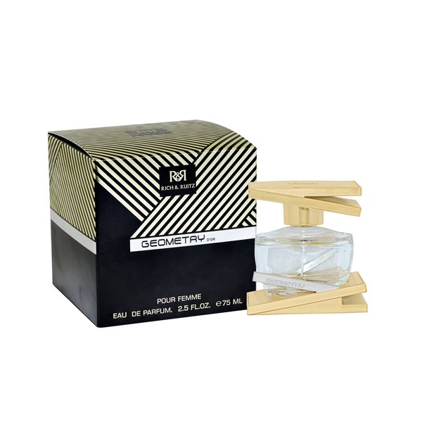 Rich & Ruitz Geometry D'or Eau de Parfum 75 ml pour femme