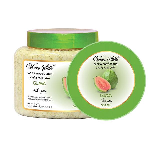 Vera Silk Face & Body scrub Guava  500 ml