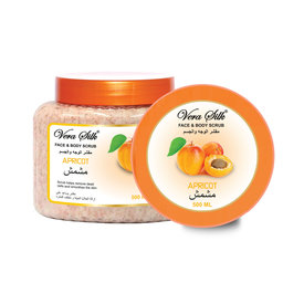Vera Silk Face & Body scrub Apricot