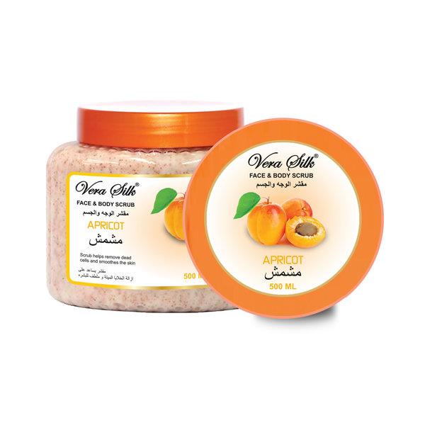 Vera Silk Face & Body scrub Apricot 500 ml