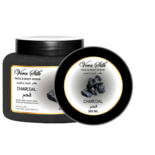 Vera Silk Face & Body Scrub Charcoal 500 ml