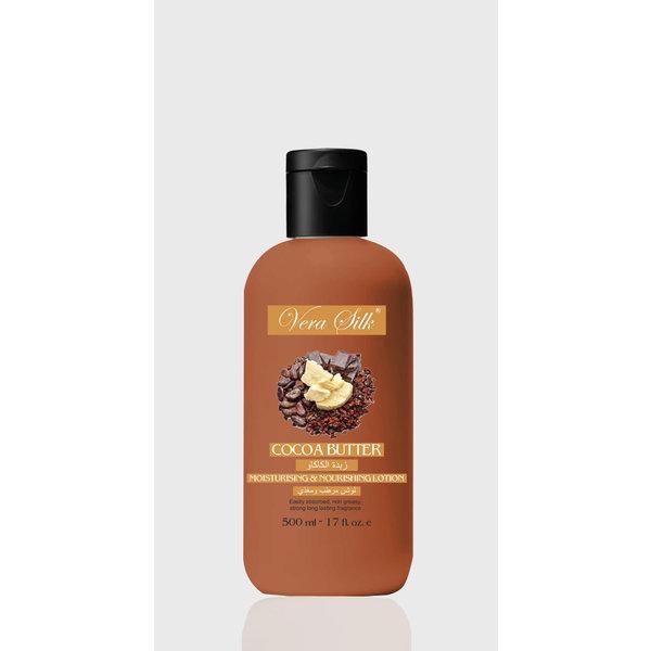 Vera Silk Cocoa Butter Moisturising & nourishing Lotion  500 ml
