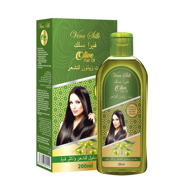 Vera Silk Hair Oil  Olive Oil 200 ml