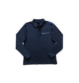Luxury Long Sleeve Polo - men