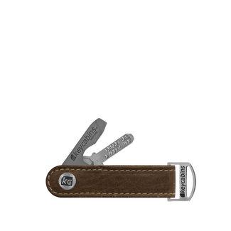 Leder-loop brown