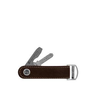 Leder-loop brown dark