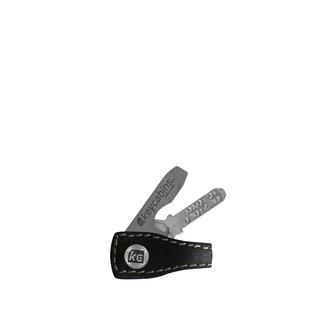 Mini Leder-loop black