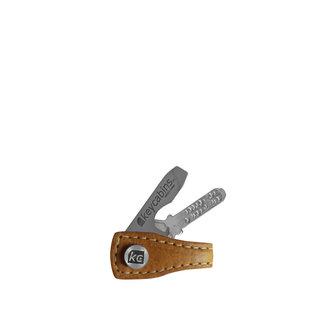 Mini Leder-loop pineapple