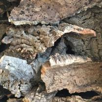 Korkrinde naturbelassen - Korkdekomaterial - Naturkork