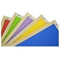 Gekleurde prikborden met lijst
