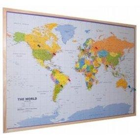 Wereld en landkaarten