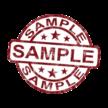 WAND- EN VLOERKURK - MONSTERS / SAMPLES / STALEN