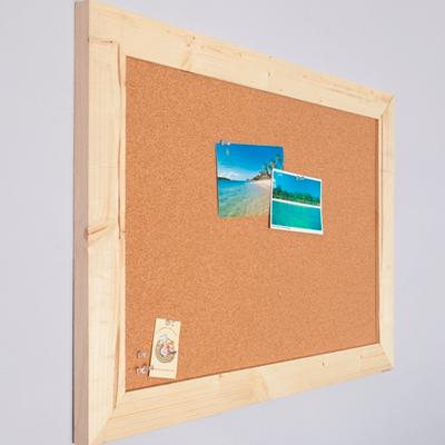 Uitgelezene Groot Prikbord Prikbord op maat gemaakt | Kurk prikborden - Kurk 24 AY-23