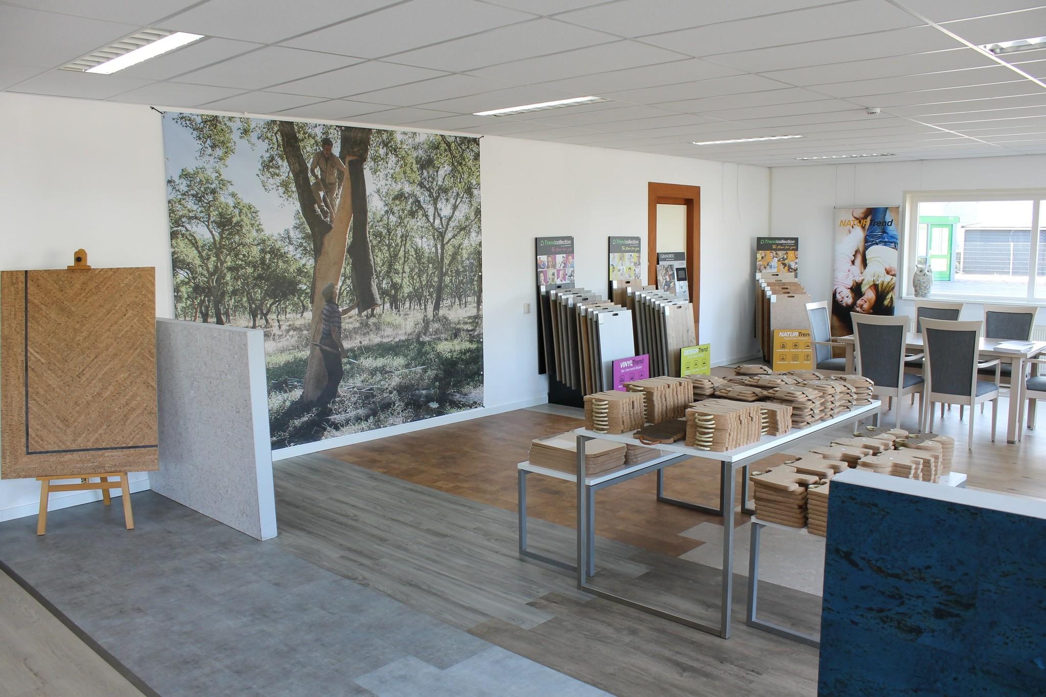 Kurk showroom in Westerbork