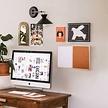 Kurk prikbord - Whiteboard - 20 x 30 cm. ACTIE