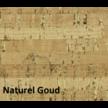 Akoestisch kurk prikbord afgewerkt met luxe design kurkstof