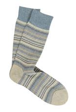 Marcoliani Marcoliani sokken beige gestreept 4242T/035