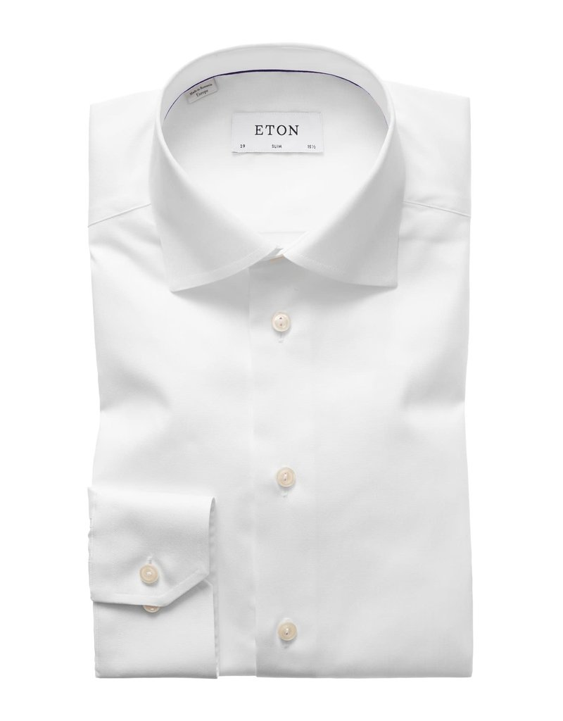 Eton Eton hemd wit slim 3000-79511