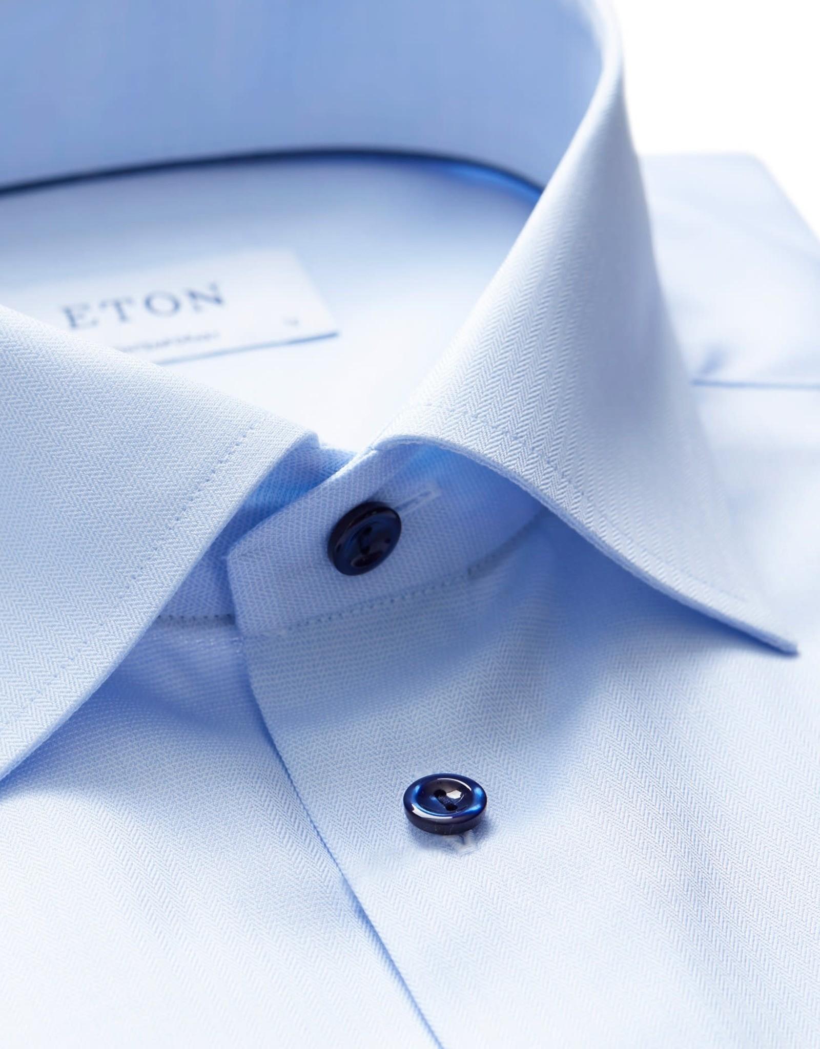 Eton Eton hemd blauw contemporary 3295-79339/21