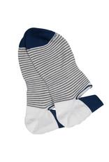 Marcoliani Marcoliani sokken wit gestreept Sneaker 3311K/008