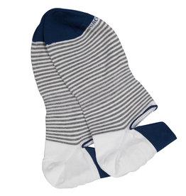 Marcoliani Marcoliani sokken wit gestreept Sneaker