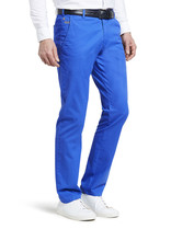 Meyer Exclusive Meyer Exclusive broek katoen blauw 8033/16 Bonn